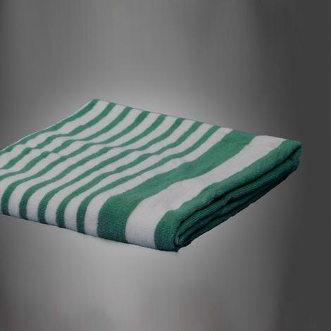 "Cabana Towels Tropical Green - 15 Lbs. - 30x70"" - 2 Dozen - 24 Pieces"