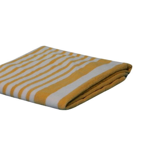 Cabana Towels Tropical Yellow Stripes 15#  30x70""