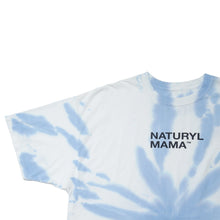 Load image into Gallery viewer, Naturyl Mama Blue Tie Dye 💙 Tee
