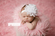 Fluffy Chiffon Flower Headband