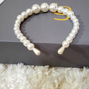 Pearl Elegant Headband Toddler/Adult