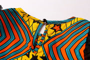 Simi Two Print Ankara Girls Two Piece Set