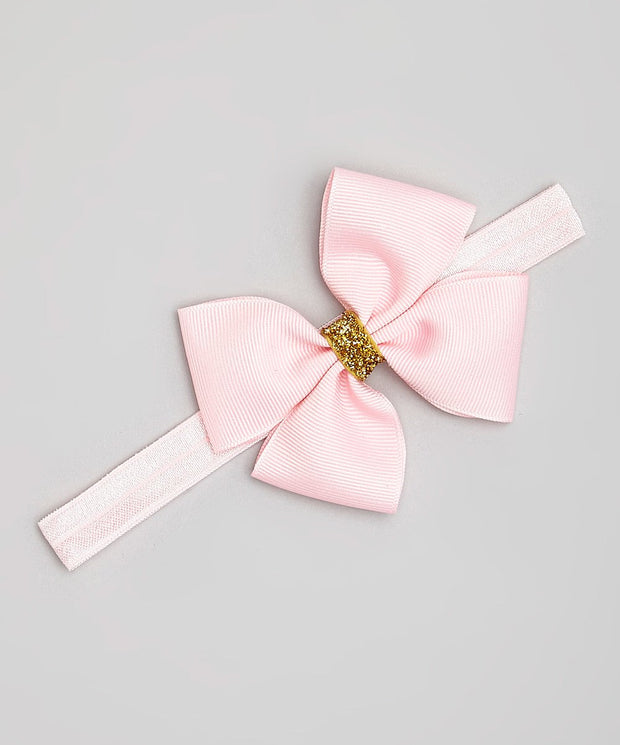 Gold Accent Bow Headband