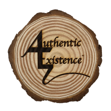 Load image into Gallery viewer, Authentic Existence® Signature Wood Coaster - Authentic Existence®