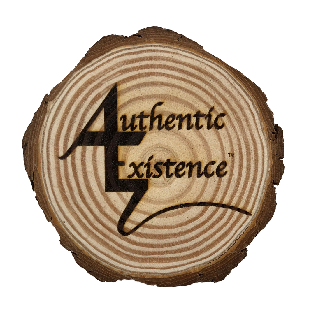 Authentic Existence® Signature Wood Coaster - Authentic Existence®