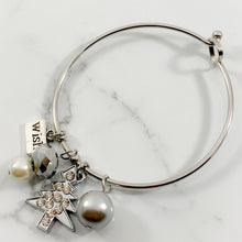 Load image into Gallery viewer, Authentic Existence® Christmas Wish Stainless Steel Buckle Bangle Bracelet