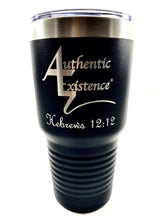 Load image into Gallery viewer, Authentic Existence® Energy Boost Tumbler - Black 30 oz. - Authentic Existence®