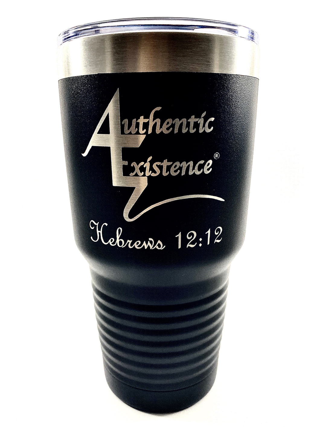 Authentic Existence® Energy Boost Tumbler - Black 30 oz. - Authentic Existence®