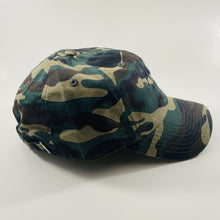 Load image into Gallery viewer, Authentic Existence® Signature Unisex Adjustable Premium Cap - Camo with Black Embroidery