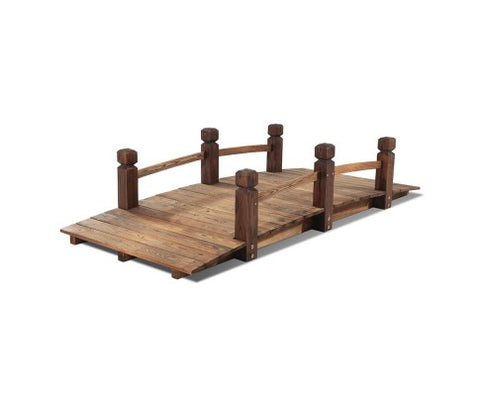 Rustic Wooden Bridge 160cm