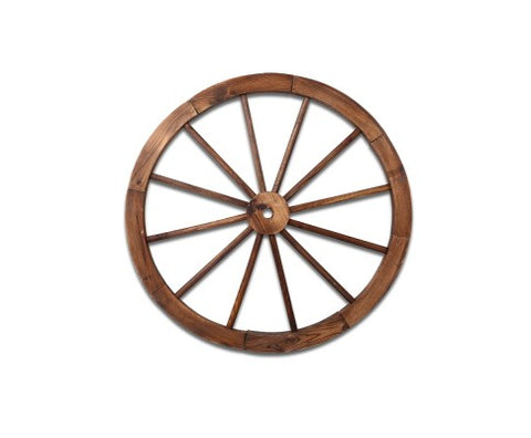 Wooden Wagon Wheel 60cm