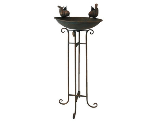 2 Birds Bird bath Outdoor Feeding Station