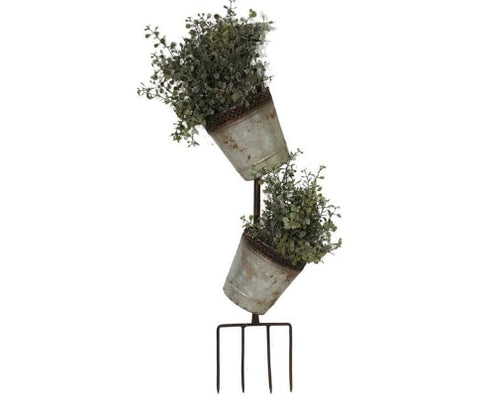 Fork Wall Flower Pot Planter