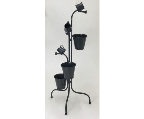 Multiple Metal Planter Pots - 101cm