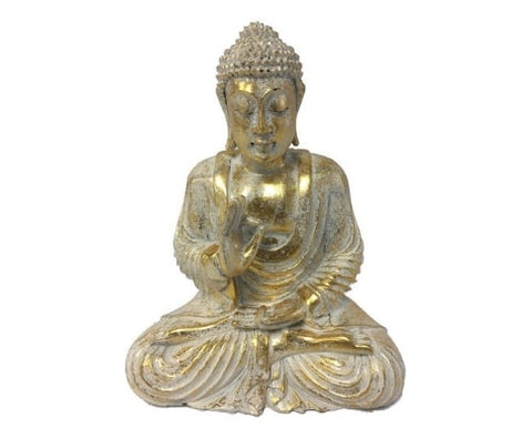 Teaching Buddha Garden Statue