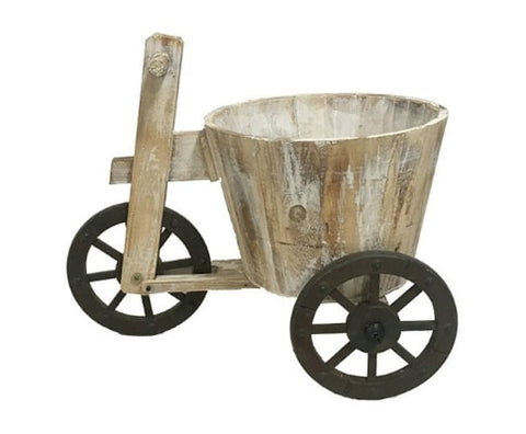 Wooden Tricycle Flower Planter