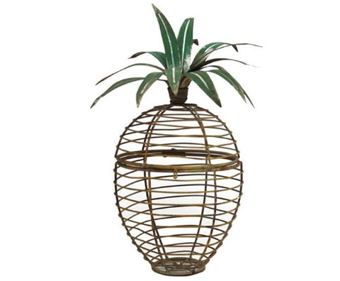 Pineapple Box Garden Decor