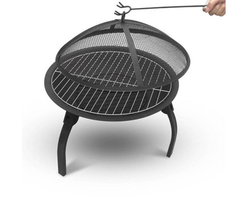 22 Inch Portable Outdoor Fire Pit