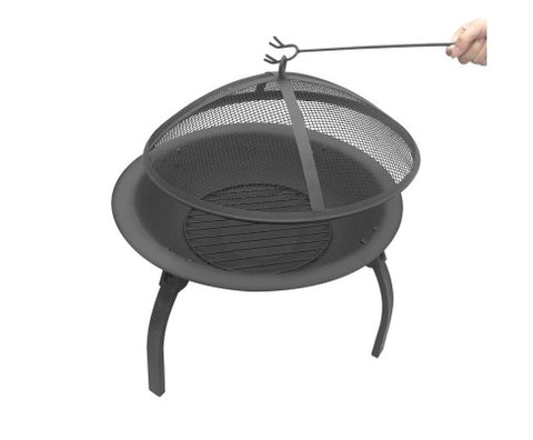 30 Inch Portable Outdoor Fire Pit