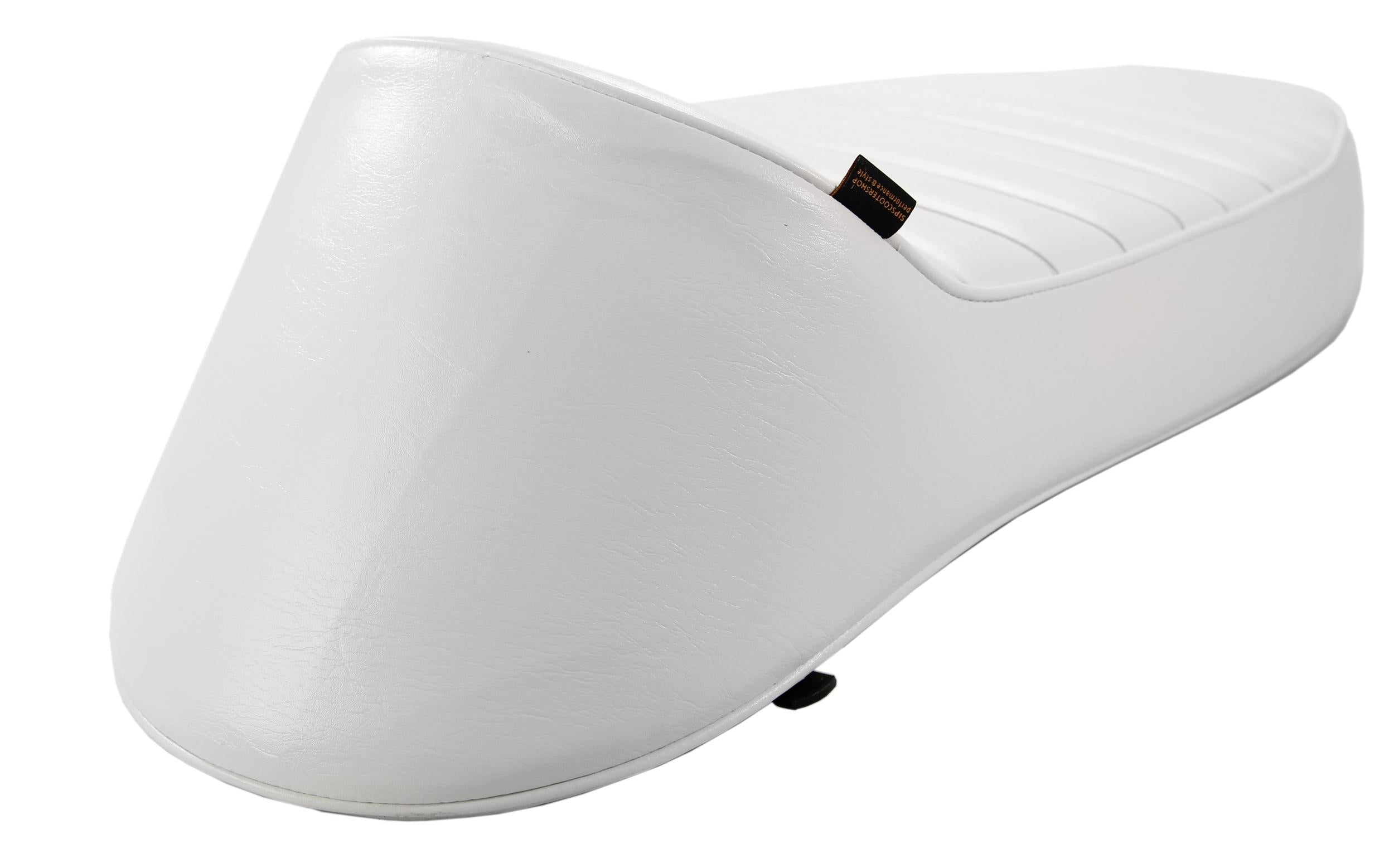 SIP Longtail Sport Seat in White - Vespa Super Sprint GS Rally