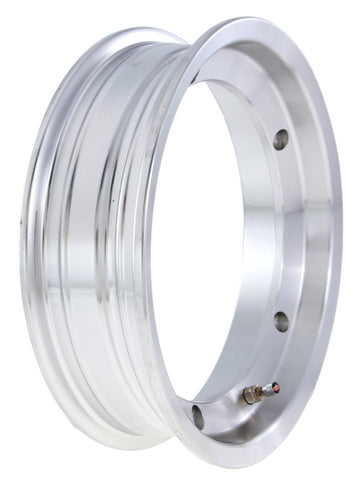 SIP Tubeless Wheel Rim in Polished - Vespa 2.50 x 10""