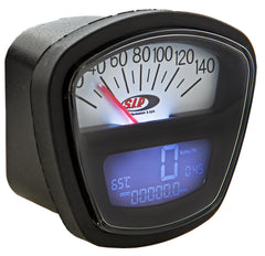 SIP Digital Speedo / Rev Counter in White - Lambretta LI SX TV GP Series 3