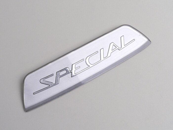 CASA Silver Special Rear Badge - Lambretta