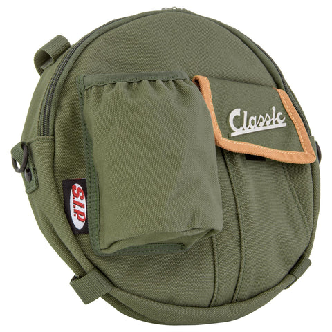 "SIP Spare Wheel Bag 10"" in Olive for Vespa or Lambretta"