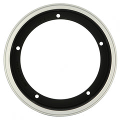 SIP Tubeless Wheel Rim in Matt Black Polished Rim - Vespa 2.50 x 10""