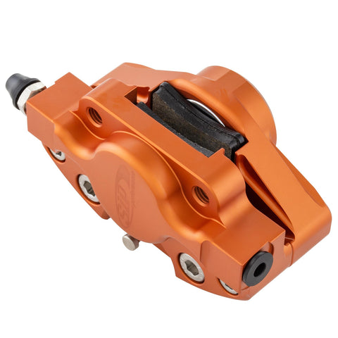 SIP Front Brake Calliper in Matt Orange - Vespa PX Grimeca