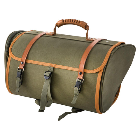 SIP Classic 35 Litre Canvas Bag in Olive - Vespa Lambretta