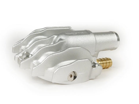 BGM Pro Faster Flow Water Pump Cover in Silver - Vespa GT GTS GTL GTV
