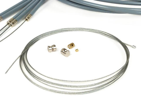 BGM Pro PE Lined Complete Cable Set for Lambretta LI SX TV 2-3