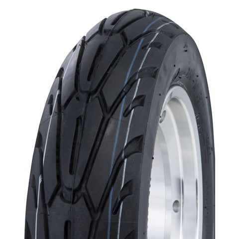 SIP Tubeless Wheel Rim in Polished + Performer Tyre - Vespa PX T5 LML