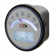 SIP Digital Speedo / Rev Counter in White - Lambretta LI TV Series 1 2