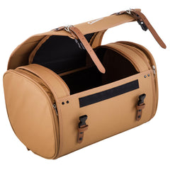 SIP Classic 35 Litre Canvas Bag in Tan Brown - Vespa Lambretta