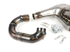 BGM Pro Clubman V4.0 Quattrini M210 Big Box Exhaust - Lambretta LI SX TV GP 1 2 3