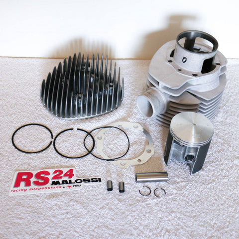 Malossi 210cc Racing Cylinder Kit with Head - Vespa PX 200