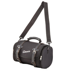 SIP Classic 10 Litre Canvas Bag in Black - Vespa Lambretta