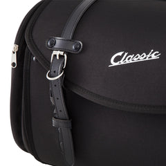 SIP Classic 35 Litre Canvas Bag in Black - Vespa Lambretta