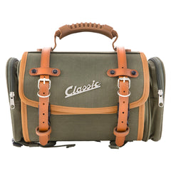 SIP Classic 10 Litre Canvas Bag in Olive - Vespa Lambretta
