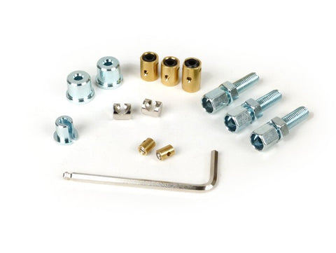 Engine & Frame Cable Adjuster & Trunnion Set - Lambretta LI SX TV GP