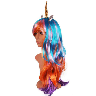 Magical Unicorn Wig Party Decoration