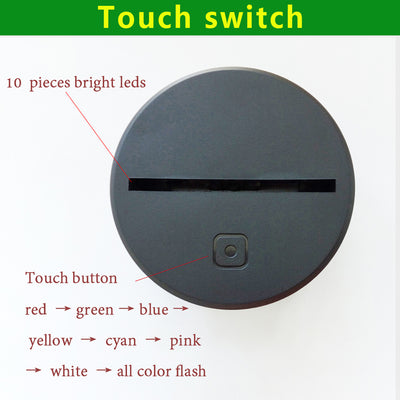 3D Visual LED NightLight