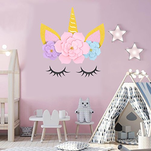 Unicorn Party Supplies Decorations Backdrop For Girls Birthday