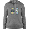 I wish I was a Unicorn Sport-Tek Ladies' Pullover Hooded Sweatshirt