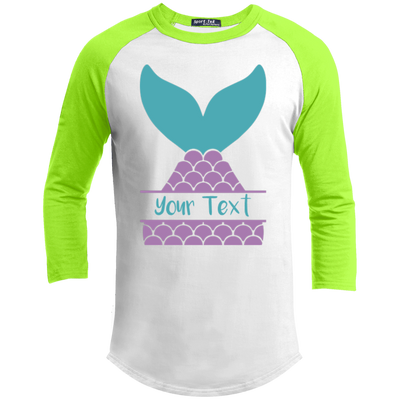 Personalized Mermaid YT200 Sport-Tek Youth Sporty T-Shirt