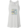 I wish I was a Unicorn Bella + Canvas Flowy Racerback Tank