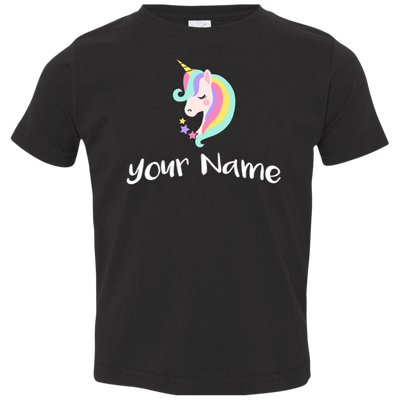 Unicorn Rabbit Skins Toddler Jersey T-Shirt