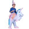 Funny Inflatable Unicorn Costume For Halloween Party